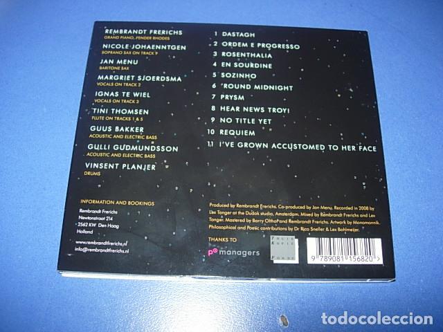 CDs de Música: Rembrandt Frerichs ?– Ordem E Progresso 2 × CD, Album Firmado por el autor - Foto 3 - 147658838
