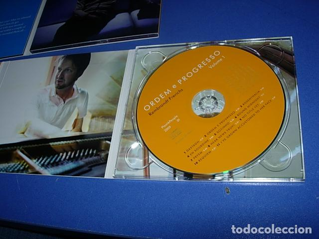 CDs de Música: Rembrandt Frerichs ?– Ordem E Progresso 2 × CD, Album Firmado por el autor - Foto 6 - 147658838