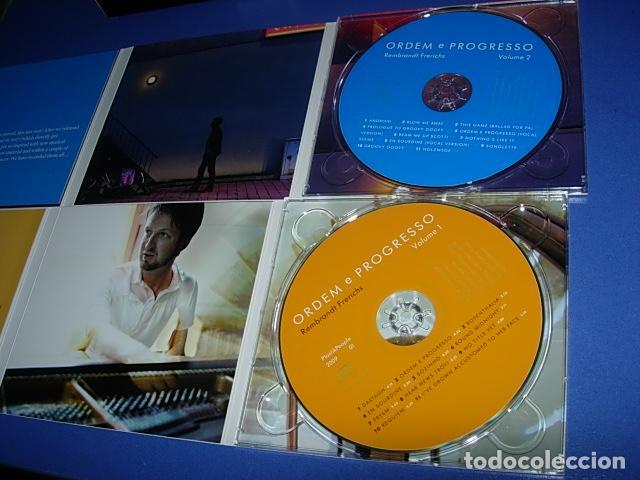CDs de Música: Rembrandt Frerichs ?– Ordem E Progresso 2 × CD, Album Firmado por el autor - Foto 7 - 147658838