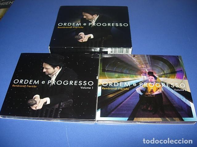 CDs de Música: Rembrandt Frerichs ?– Ordem E Progresso 2 × CD, Album Firmado por el autor - Foto 8 - 147658838