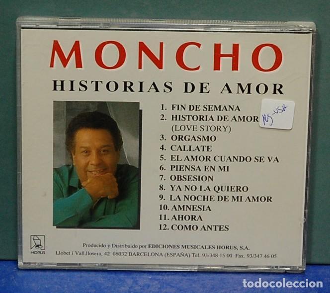 CDs de Música: LMV - Moncho. Historias de amor. CD - Foto 2 - 147680314