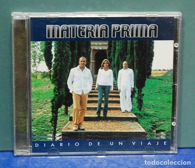 LMV - MATERIA PRIMA. DIARIO DE UN VIAJE. CD (Música - CD's Melódica )