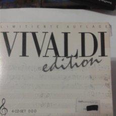 CDs de Música: VIVALDI EDITION. LIMITIERTE AUFLAGE. Lote 147690366