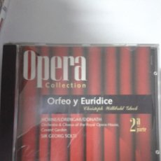 CDs de Música: OPERA ORFEO Y EURIDICE 2 PARTE. Lote 147693386