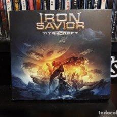 CDs de Música: IRON SAVIOR - TITANCRAFT - LIMITED EDITION. Lote 147694182