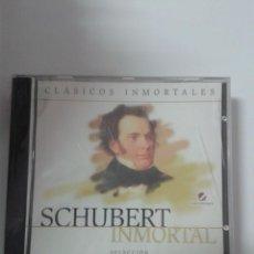 CDs de Música: CLASICOS INMORATLES. SCHUBERT INMORTAL SELECCIÓN. Nº 6. Lote 147698030