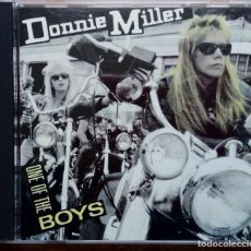 CDs de Música: DONNIE MILLER. ONE OF THE BOYS. ALBUM CD. IMAGINE RECORDS / CBS 1989 PRINTED IN USA (HARD ROCK). Lote 147699082