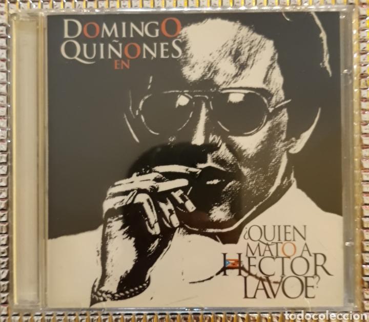 DOMINGO QUIÑONES - ¿QUIEN MATO A HECTOR LAVOE? (Musik - CD's - Lateinamerikanische Musik)