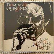 CDs de Música: DOMINGO QUIÑONES - ¿QUIEN MATO A HECTOR LAVOE?. Lote 147701398
