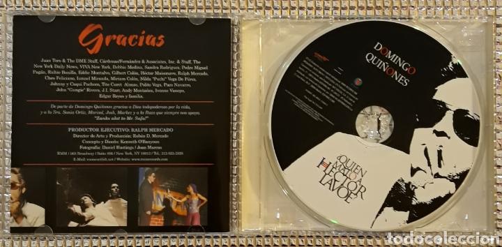 Musik-CDs: DOMINGO QUIÑONES - ¿QUIEN MATO A HECTOR LAVOE? - Foto 2 - 147701398