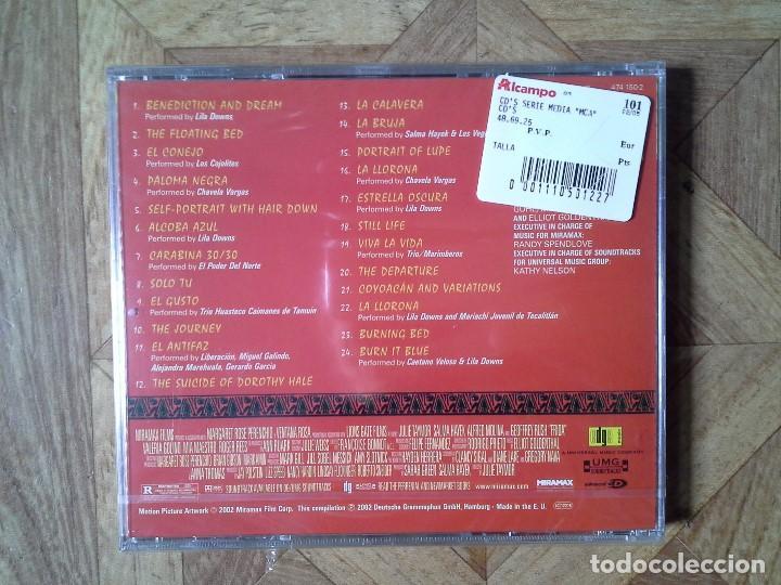 CDs de Música: FRIDA - MUSIC FROM THE MOTION PICTURE - CD 2002 PRECINTADO - Foto 2 - 147702014