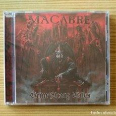 CDs de Música: MACABRE - GRIM SCARY TALES CD NUEVO Y PRECINTADO - DEATH METAL THRASH METAL. Lote 147702378