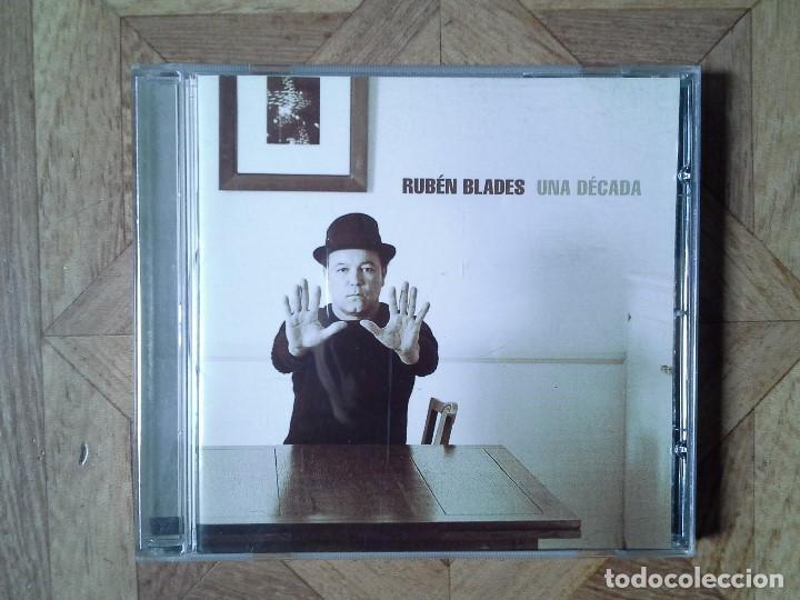 RUBÉN BLADES - UNA DÉCADA - CD COLOMBIA 2003 (Música - CD's World Music)