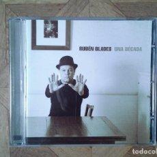 CDs de Música: RUBÉN BLADES - UNA DÉCADA - CD COLOMBIA 2003. Lote 147702582
