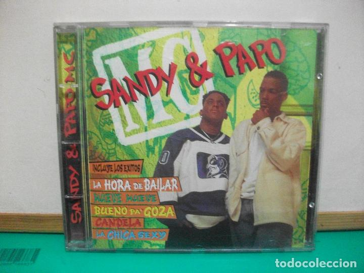 SANDY & PAPO MUSIC 1996 CD ALBUM (Música - CD's Latina)