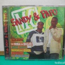 CDs de Música: SANDY & PAPO MUSIC 1996 CD ALBUM. Lote 147709022