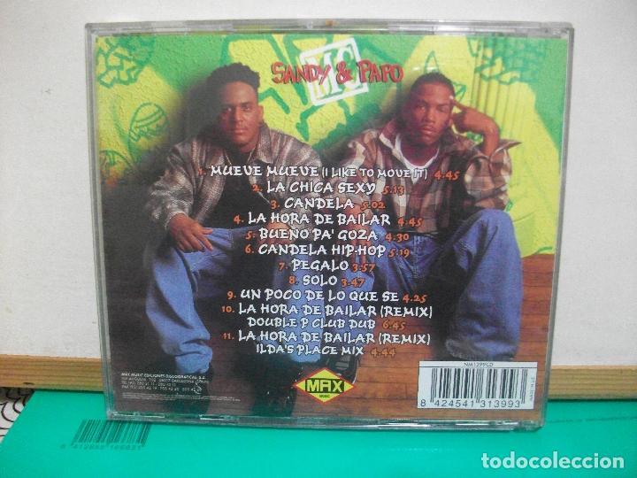 CDs de Música: SANDY & PAPO MUSIC 1996 CD ALBUM - Foto 2 - 147709022