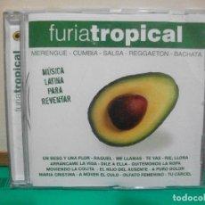 CDs de Música: FURIA TROPICAL MUSICA LATINA PARA REVENTAR REGGAETON , MERENGUE , CUMBIA , BACHATA CD ALBUM . Lote 147709622