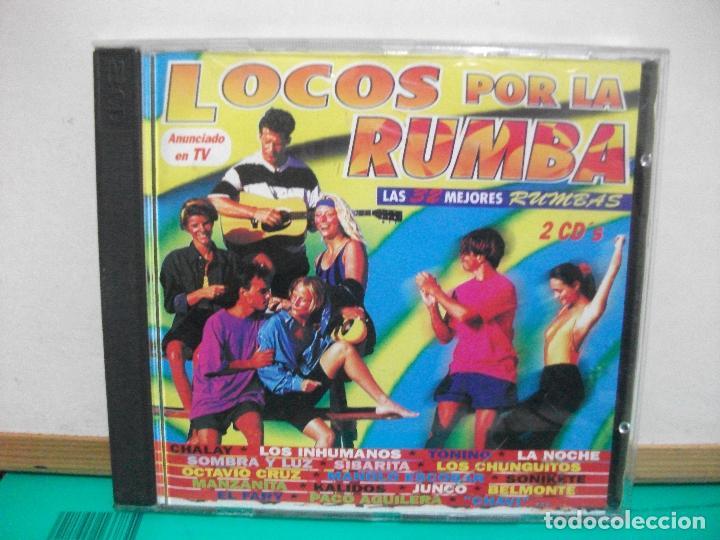 FLAMENCO, COPLA, SEVILLANAS, RUMBAS - LOCOS POR LA RUMBA - VARIOS (DOBLE CD) NUEVO¡¡ PEPETO (Música - CD's Flamenco, Canción española y Cuplé)