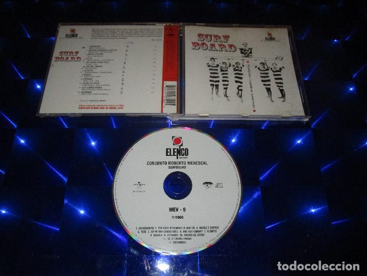 ROBERTO MENESCAL E SEU CONJUNTO ( SURFBOARD - MEV - 9 ) - CD - 0601215974225 - ELENCO (Música - CD's Latina)
