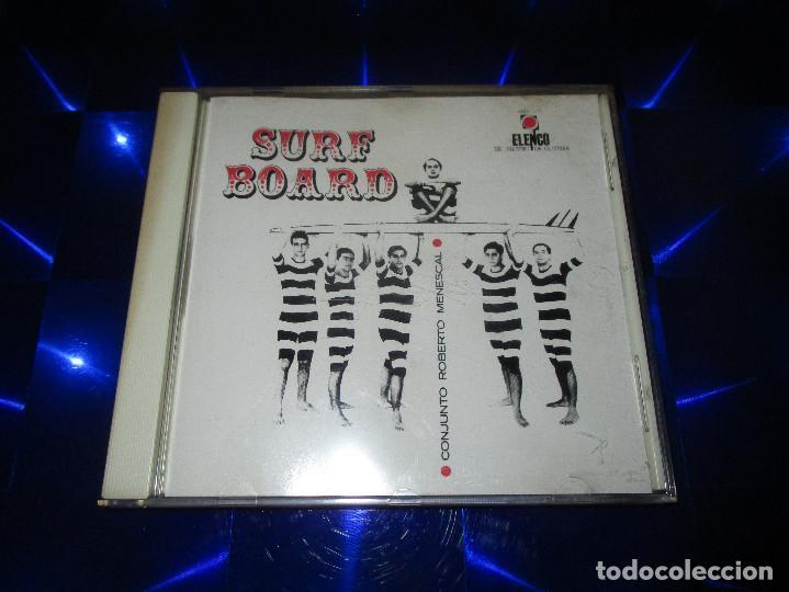 CDs de Música: ROBERTO MENESCAL E SEU CONJUNTO ( SURFBOARD - MEV - 9 ) - CD - 0601215974225 - ELENCO - Foto 2 - 147710618