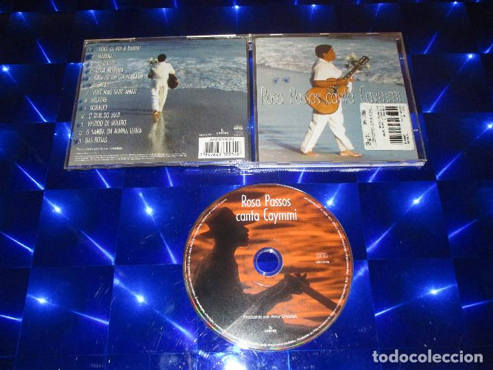 ROSA PASSOS ( CANTA CAYMMI ) - CD - LD54-01/00 - LUMIAR DISCOS - ROSA MORENA - MARINA ... (Música - CD's Latina)