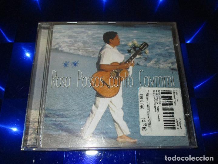 CDs de Música: ROSA PASSOS ( CANTA CAYMMI ) - CD - LD54-01/00 - LUMIAR DISCOS - ROSA MORENA - MARINA ... - Foto 2 - 147710990