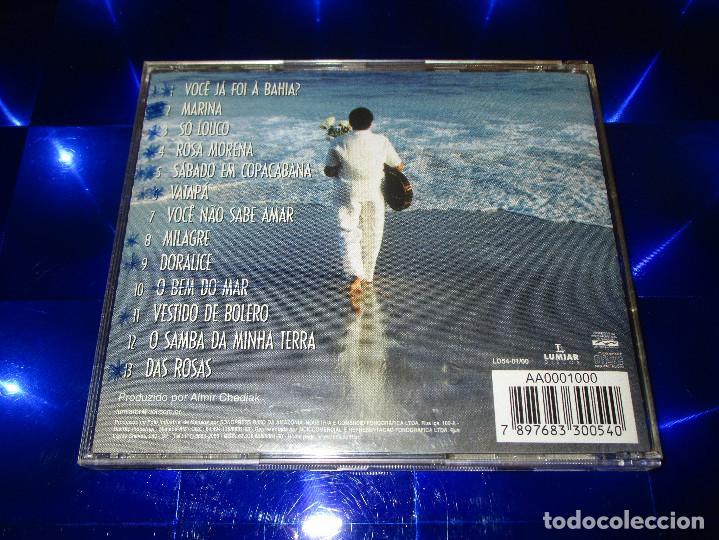 CDs de Música: ROSA PASSOS ( CANTA CAYMMI ) - CD - LD54-01/00 - LUMIAR DISCOS - ROSA MORENA - MARINA ... - Foto 3 - 147710990