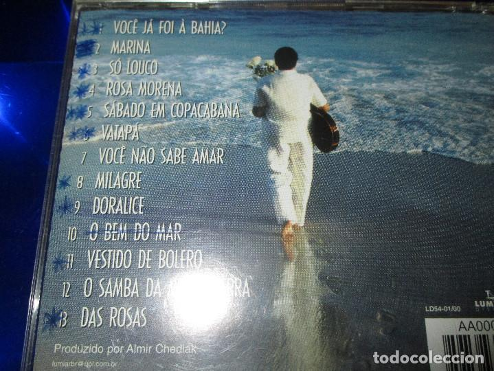 CDs de Música: ROSA PASSOS ( CANTA CAYMMI ) - CD - LD54-01/00 - LUMIAR DISCOS - ROSA MORENA - MARINA ... - Foto 4 - 147710990