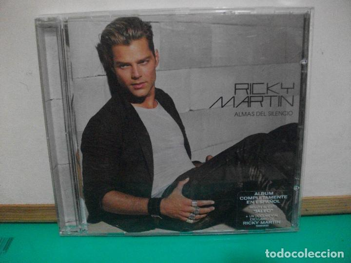 RICKY MARTIN - ALMAS DEL SILENCIO - CD ALBUM NUEVO¡¡ (Música - CD's Latina)
