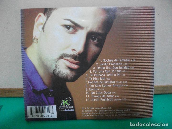 CDs de Música: JOSEPH FONSECA NOCHES DE FANTASIA CD ALBUM 2001 - Foto 2 - 147711678