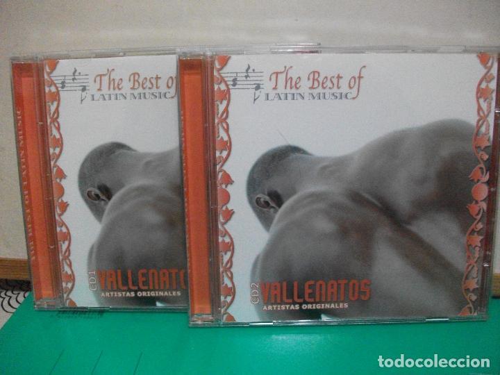 DOBLE CD THE BEST OF LATIN MUSIC VALLENATOS ARTISTAS ORIGINALES (Música - CD's Latina)