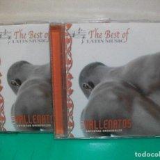 CDs de Música: DOBLE CD THE BEST OF LATIN MUSIC VALLENATOS ARTISTAS ORIGINALES . Lote 147713354