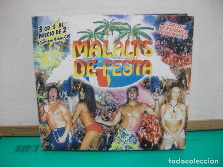 MALALTS DE FESTA SOLO VERSIONES ORIGINALES PACK 3 CD COMO NUEVO SOMBRA RECORDS (Música - CD's Latina)