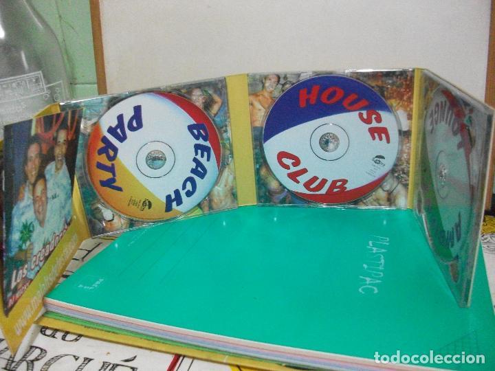 CDs de Música: MALALTS DE FESTA SOLO VERSIONES ORIGINALES PACK 3 CD COMO NUEVO SOMBRA RECORDS - Foto 2 - 147713834