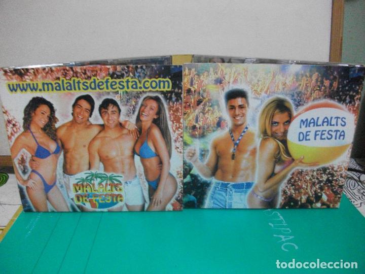 CDs de Música: MALALTS DE FESTA SOLO VERSIONES ORIGINALES PACK 3 CD COMO NUEVO SOMBRA RECORDS - Foto 3 - 147713834