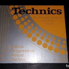CDs de Música: 2 CD TECHNICS THE ORIGINAL SESSIONS VOL. 4 NUEVO. Lote 147720542