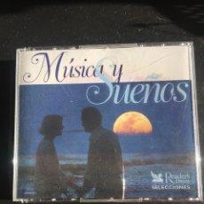 CDs de Música: MÚSICA Y SUEÑOS 5CD'S. Lote 147724941