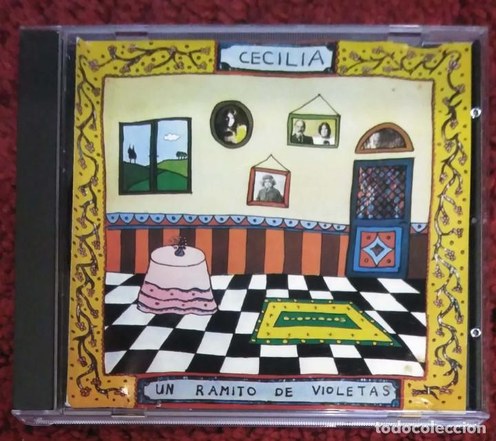 CECILIA (UN RAMITO DE VIOLETAS) CD 1992 - 1ª EDICIÓN SIN CODIGO DE BARRAS (Música - CD's Melódica )