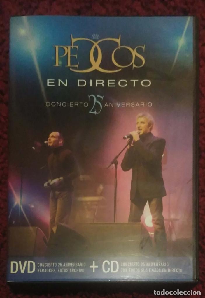 PECOS (EN DIRECTO - CONCIERTO 25 ANIVERSARIO) CD + DVD 2004 (Musik - CD's - Melodische Musik)