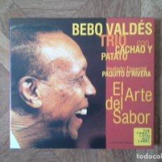 CDs de Música: BEBO VALDÉS TRÍO CON CACHAO Y PATATO - EL ARTE DEL SABOR. Lote 147726778