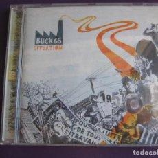 CDs de Música: BUCK 65 CD WEA 2007 - SITUATION - HIP HOP - RAP CANADA . Lote 147726858
