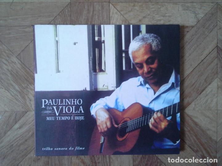 PAULINHO DA VIOLA – MEU TEMPO É HOJE - CD BRASIL 2003 (Música - CD's World Music)