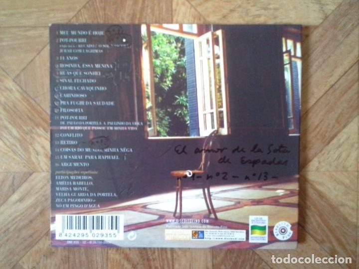 CDs de Música: Paulinho Da Viola – Meu Tempo É Hoje - CD BRASIL 2003 - Foto 2 - 147727338