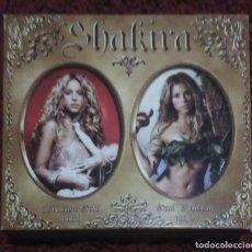 CDs de Música: SHAKIRA (FIJACIÓN ORAL VOL. 1 & ORAL FIXATION VOL. 2) 2 CD'S + DVD 2006. Lote 147727402