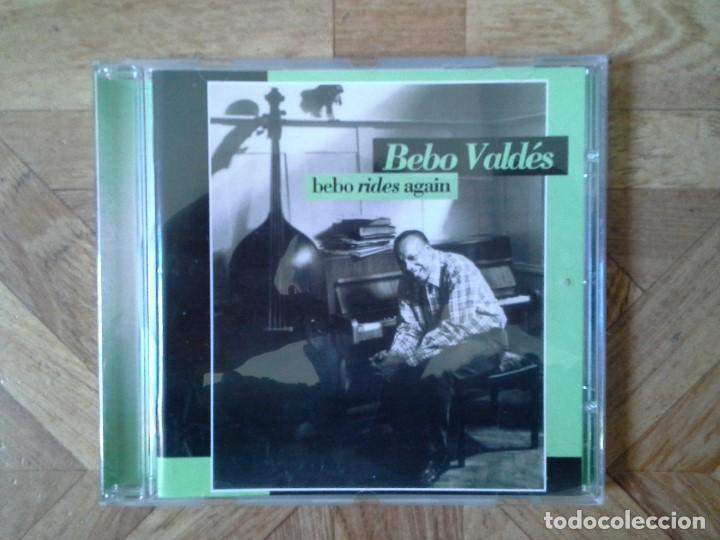 BEBO VALDÉS - BEBO RIDES AGAIN - CD AÑO ?? (Música - CD's World Music)