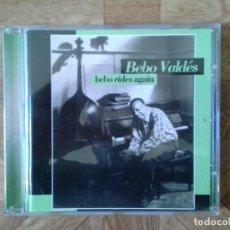 CDs de Música: BEBO VALDÉS - BEBO RIDES AGAIN - CD AÑO ??. Lote 147729462
