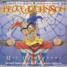 CDs de Música: BRUCE DICKINSON (IRON MAIDEN) : MAN OF SORROWS (5 VERSIONES) - CD PROMO ORIGINAL UK 1997 CASTLE. Lote 147730170