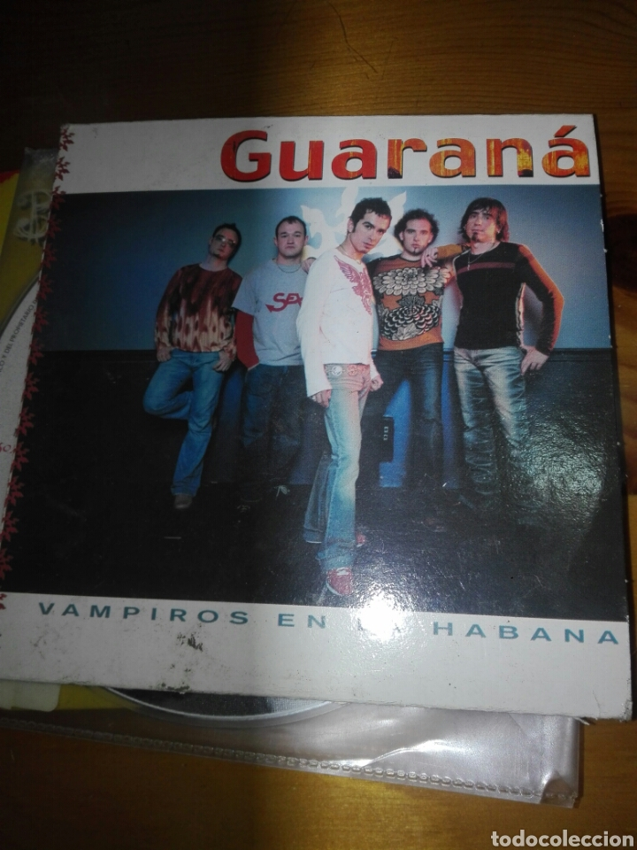 CD SINGLE GUARANA (Música - CD's Latina)
