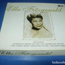 CDs de Música: ELLA FITZGERALD - QUEEN OF JAZZ VOL 1-2 2 CD. Lote 147740298